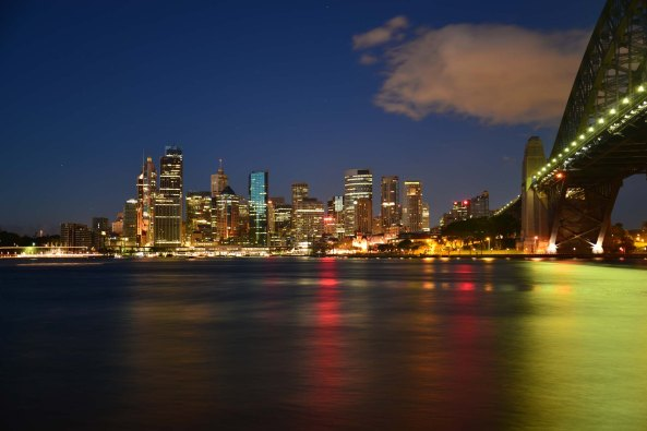 Milsons point city dawn